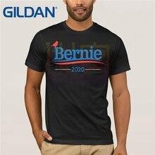 Bernie Bird Sanders For President in 2020 T-Shirt summer  T-shirt Clothes Popular Crewneck 100% Cotton Tees