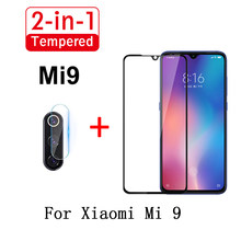 2 in 1 Lens Cover Screen Protector Glass For MI9 9SE Mi9 Lite Anti-Scratch Camera Lens Glass Film For Xiaomi mi9se Mi9T mi9t Pro(China)