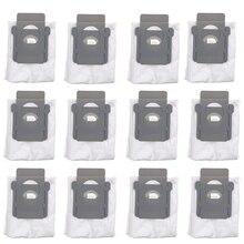 6 قطعة/12 قطعة ل irobot Roomba i7 i7 + زائد E5 E6 جهاز آلي لتنظيف الأتربة الغبار تصفية أكياس الروبوتية مجمع الغبار اكسسوارات