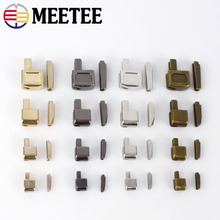 Plug-Accessories Open-Slider Meetee Metal Zipper Replacement-Kit 3 for Insert-Box Pin