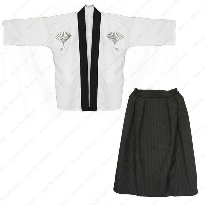 I bambini Del Ragazzo Tradizionale Giapponese Samurai Kimono Vestaglie Insieme Dei Vestiti Cosplay Costume Per Bambini Warrior Yukata Aodai Abito Giappone Vestiti