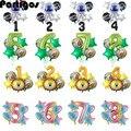 Для детей 0, 1 2 3 4 5 6 7 8 9 Стразы образуют цифру «воздушные шары наборы джунгли вечерние космического пространства Вечерние Декорации шарики 40 ...