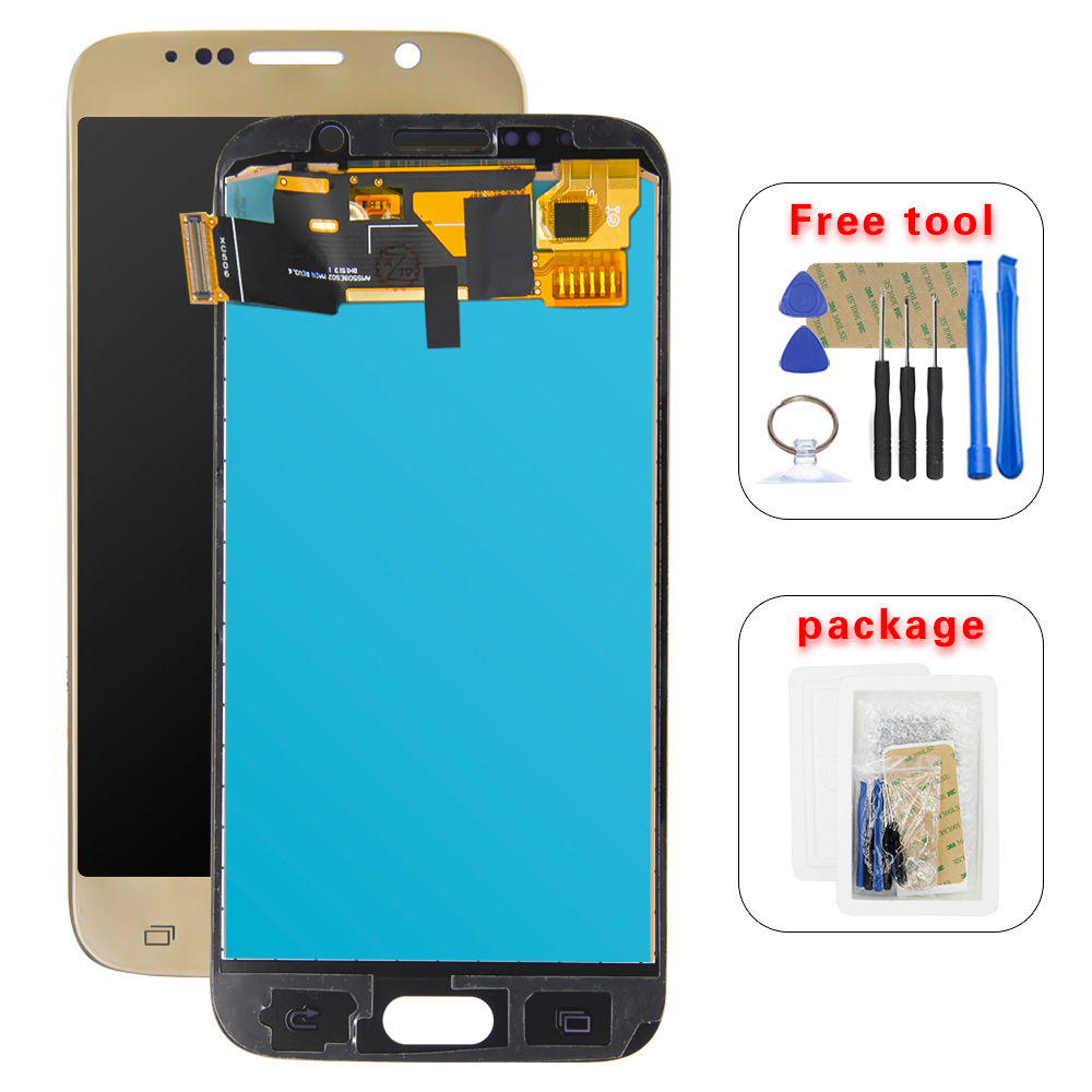 5.1 inch LCD For <font><b>samsung</b></font> S6 screen <font><b>G920</b></font> G920F G920V G920A LCD <font><b>Display</b></font> Touch Screen Digitizer Assembly image