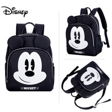 Disney Baby Diaper Bag Backpack Usb Interface Baby Bags for Mom Multifunctional Fashion Baby Stroller Bag Nappy Bag Organizer(China)