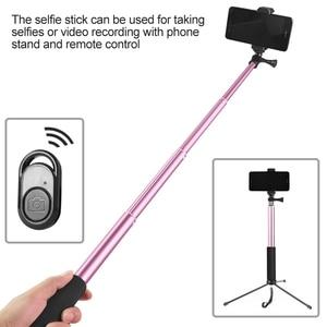 Image 4 - ¡Novedades! Lámpara de luz de vídeo para teléfono, 26CM, regulable, Anillo de luz LED, con trípode, palo Selfie, soporte para teléfono