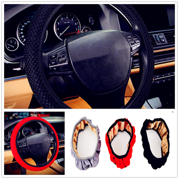 summer car auto Steering wheel Cover Anti-Slip net Breathable Auto for BMW all series 1 2 3 4 5 6 7 X E F-series E46 image