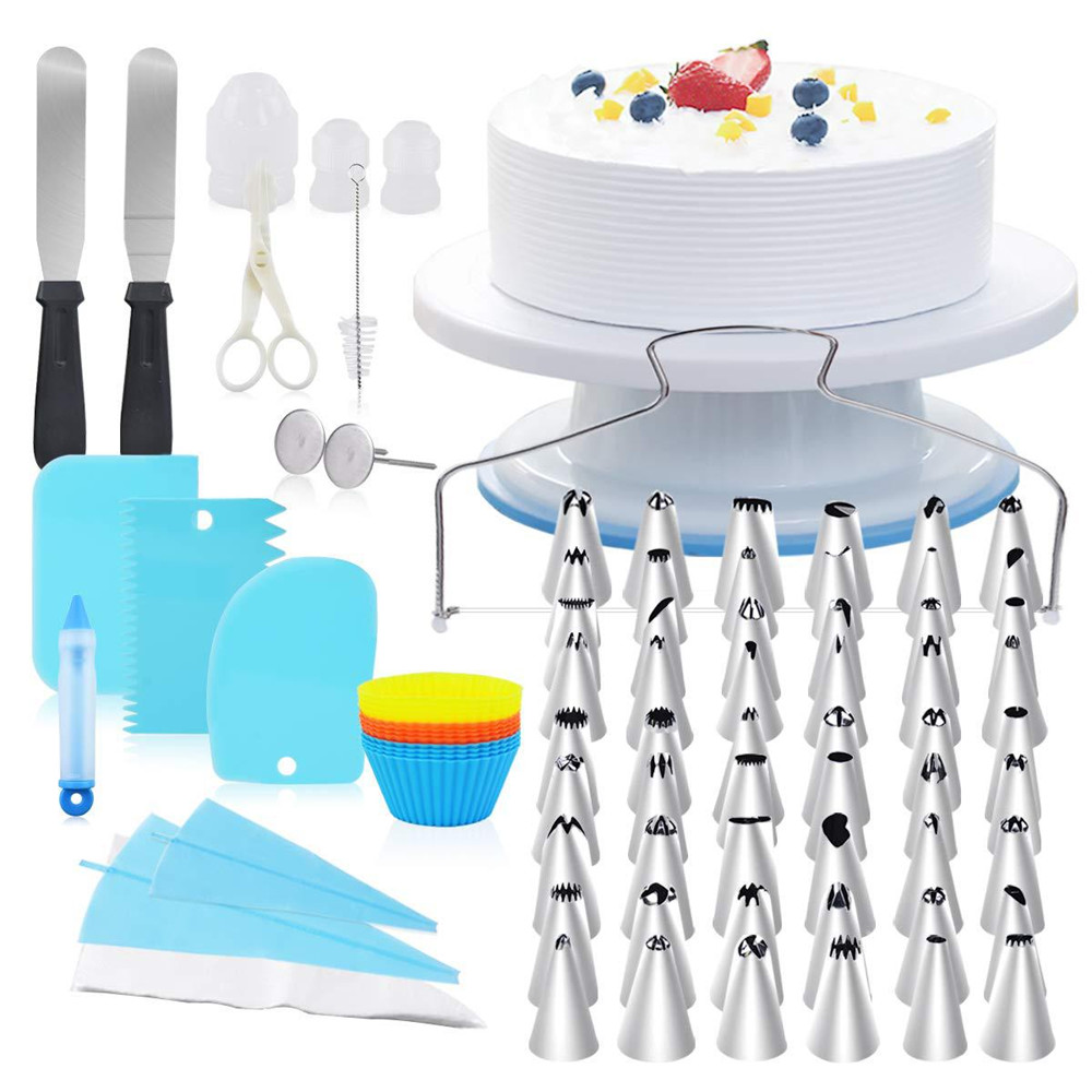 108pcs Decorating Tools Pastry Piping Bags Cake Icing Piping Nozzles Set Pastry Baking Cake Accessories Supplies