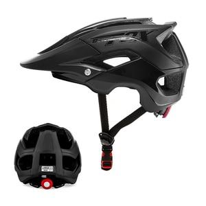 Image 1 - BATFOX 一体成型自転車道路ヘルメット男性 MTB スポーツサイクリングヘルメット超軽量プロバイクヘルメット