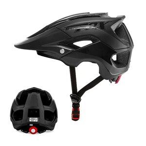 Image 1 - Шлем велосипедный BATFOX, цельнолитой спортивный, ультралегкий, для горных велосипедов