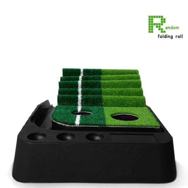 Pgm 2.5 M/3 M Golf Putting Zerbino Allenatore Allenamento di Golf Putter Green Putter Tappeto Pratica Set Sfera di Ritorno Mini golf Putting Green Fairway 4