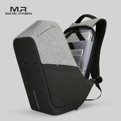 Mochila multifunción para ordenador portátil de 15 pulgadas con carga USB de Mark Ryden para hombre y adolescente, Mochila de viaje para hombre, Mochila anti-robo