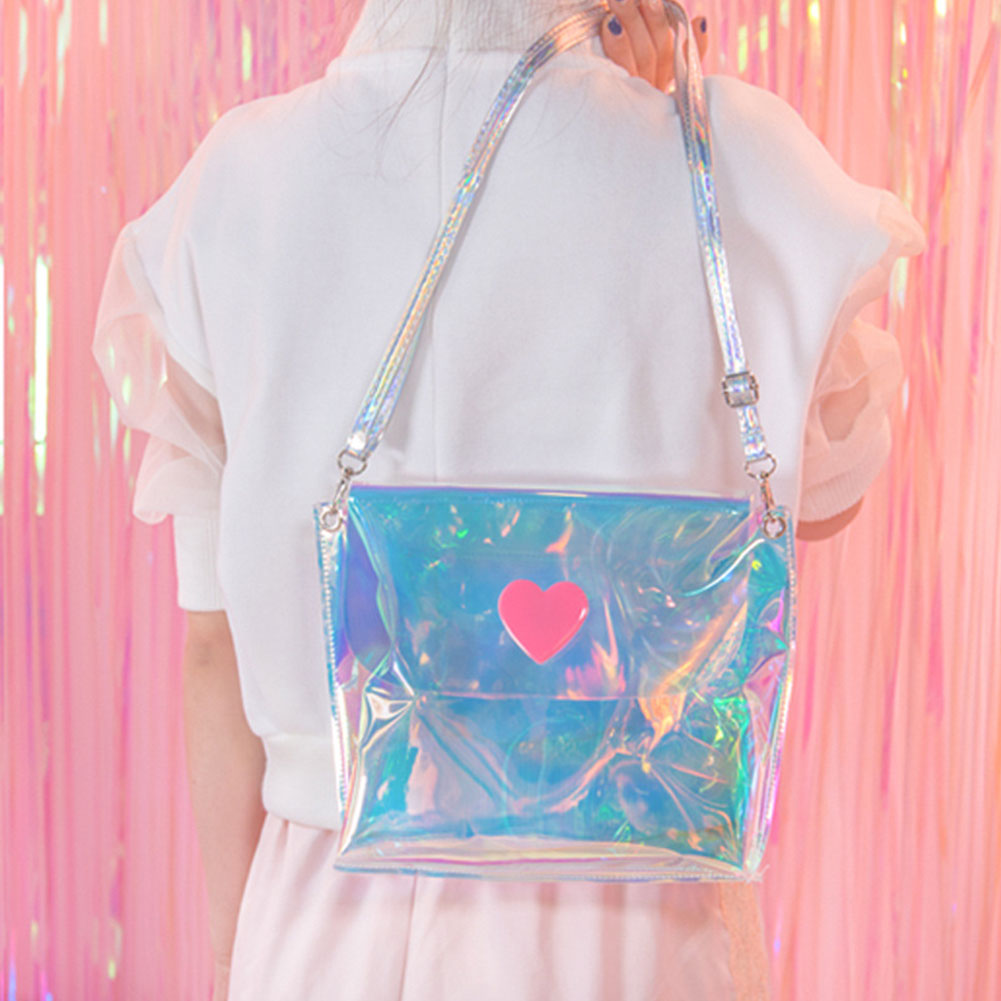Teenage Girl Zipper Casual Crossbody Shopping Street Picnic Portable Daily Travel Shoulder Bag