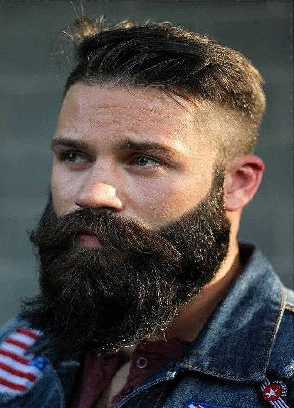 Fashionable Long Beard Hairstyle For Men Shave Hair Cut Hairstyle Design Retro Kraft Paper Poster Barber Shop Decoration A1 Painting Calligraphy Aliexpress
