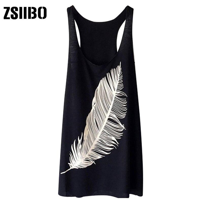 Camiseta de talla grande para mujer, camiseta informal holgada sin mangas con estampado de plumas para mujer, Ropa de talla grande informal 4XL 5XL 2021 Camisetas  - AliExpress