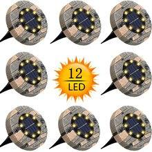 Декоративные садовые фонари для газона на солнечной батарее, уличные водонепроницаемые садовые светильники для дорожек, двора, Walkway, патио, ...