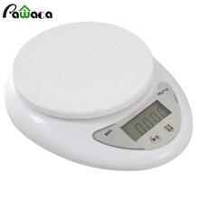 Портативные цифровые весы 5 кг/1 г с батареями ЖК-электронные весы кухонные весы Почтовые весы для баланса пищевых продуктов весовые измерительные весы