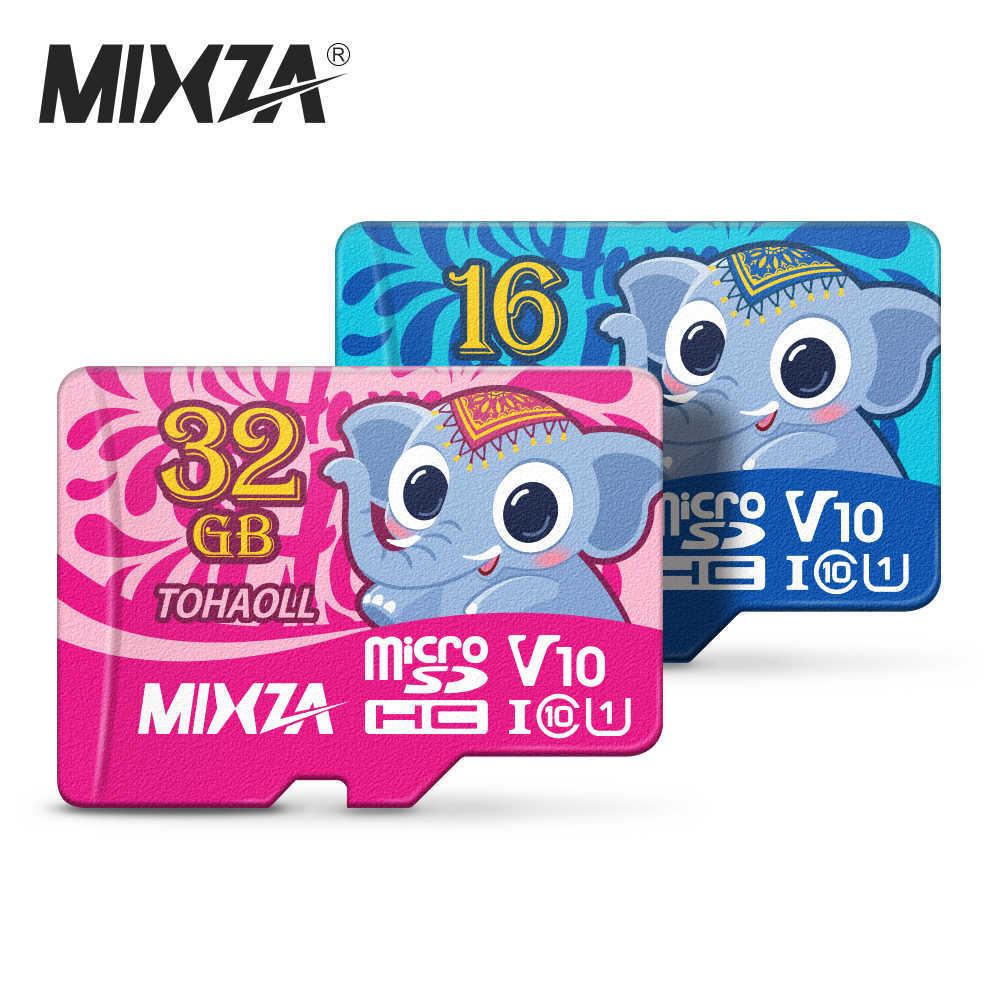 MIXZA Elefante Scheda di Memoria 256GB 128GB 64GB U3 80 MB/S 32GB Micro carta di deviazione standard di Class10 UHS-1 flash card di Memoria Microsd TF/SD card
