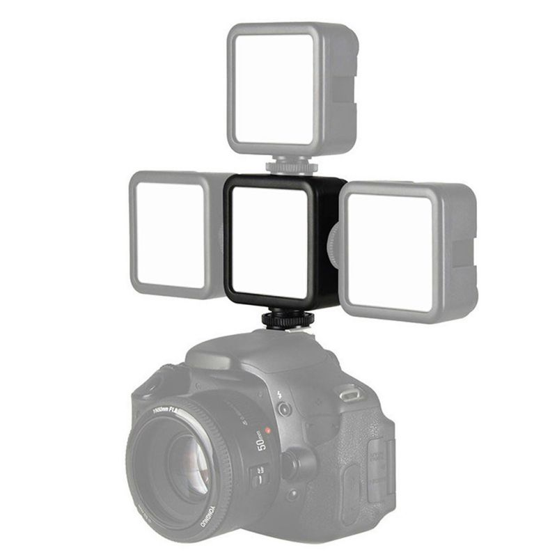 ULANZI VL49 LED Photographic Lighting With Built-in Lithium Battery Camera Photography Phone Rabbit Cage Cold Boots Lamp