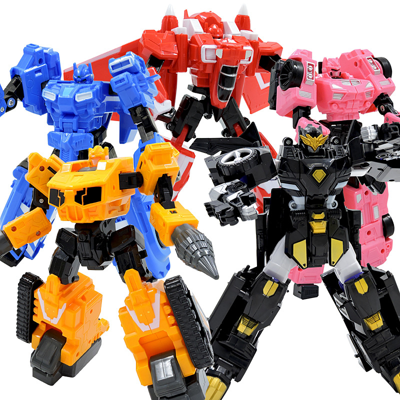 MINI FORCE X Transformable Doll Robot Toy Mini Agent Toy X King Kong Transformable Secret Commando Robot Child Holiday Gift