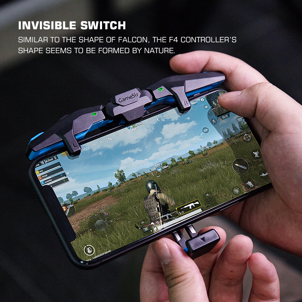 GameSir F4 Falcon PUBG Mobile Gaming Controller Gamepad Plug and Play for iPhone / Android Zero Latency for Call of Duty 3