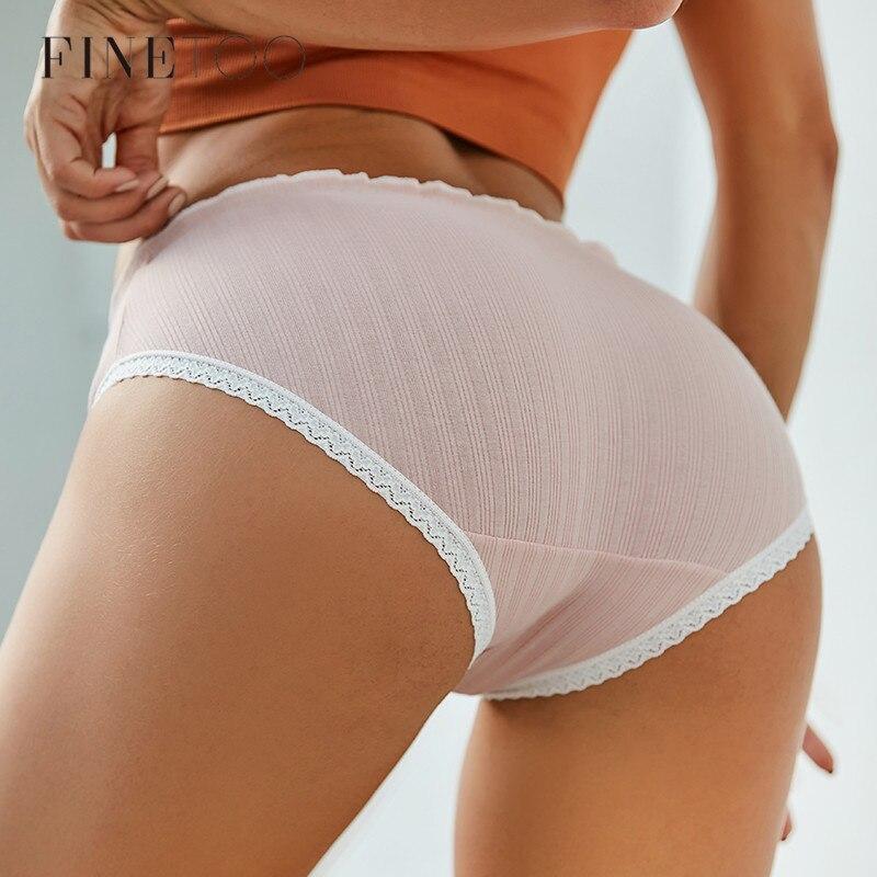 FINETOO frauen Sexy Spitze Thongs G-string Unterwäsche Niedliche Höschen Slip Für Damen T-zurück dessous Cartoon Mädchen Rosa panty