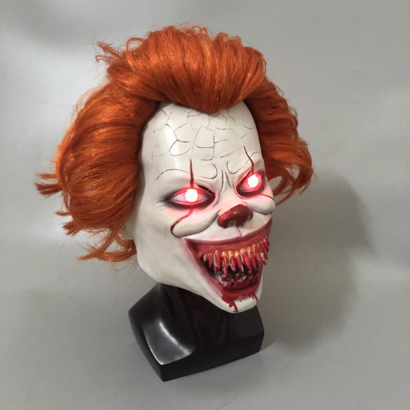 LED-It-Chapter-2-Pennywise-Clown-Cosplay-Mask-Flash-Scary-Stephen-King-Latex-Halloween-Masks-Bloody (1)