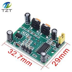 Image 2 - 100 pçs/lote HC SR501 ajustar ir piroelétrico infravermelho pir sensor de movimento detector módulo para arduino para raspberry pi kits