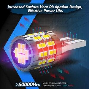 Image 5 - Katur bombilla LED para Interior de coche, T10, Canbus, W5W, lámpara automática 3014, 30SMD, 194, 168, blanco, rojo, amarillo, sin Error, 12V, 10 Uds.