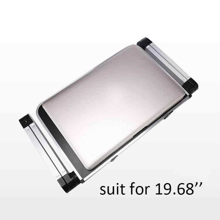 Портативный складной столик из алюминиевого сплава для ноутбука, регулируемая подставка для настольного компьютера, складной настольный столик для ноутбука