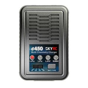 Image 2 - SKYRC – chargeur de Balance multi chimique e450, 2S 3S 4s LiPo LiFe LiHV 6S 8S NiMH, chargeur de Balance de batterie AC 110V 240V
