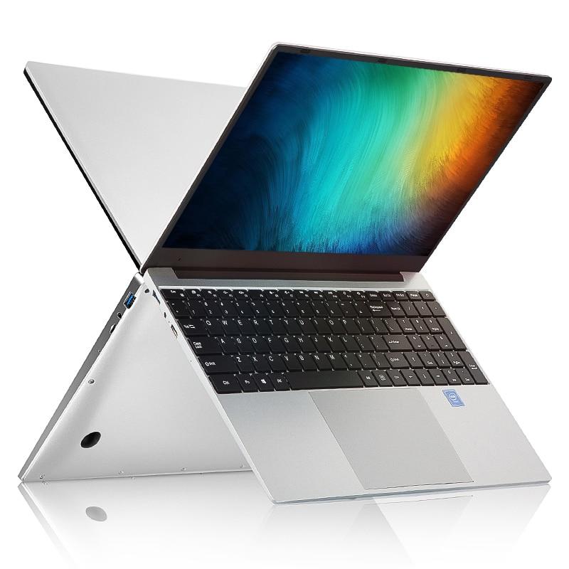 15.6 Inch Intel i7 Laptop 8GB RAM up to 512GB 1TB SSD Ultrathin 1080P Windows 10 Backlit Keyboard Dual Band WiFi Gaming Laptop