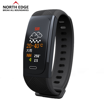 NORTH EDGE Men's Watch Male Digital Watches Water Resistant Altimeter Bluetooth Men's Electronic Wrist Watch Men LED Smart Watch