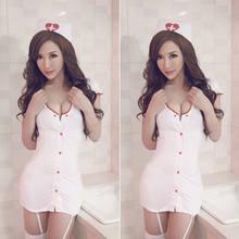 Egzotik giyim egzotik kostümleri seksi bayan hemşire doktor üniforması kostüm iç çamaşırı cadılar bayramı Cosplay süslü elbise
