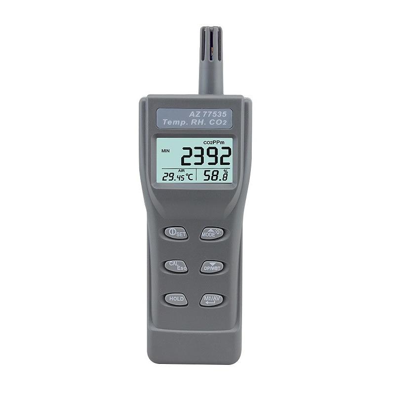 ABKT-Az-77535 Handheld Co2 Detector ,Carbon Dioxide Gas Detector Tester