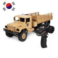 Camiones todoterreno teledirigidos 1:16, coche trepador en miniatura, camiones militares de Control remoto, juguetes para niños, regalo