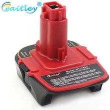 Para Dca1820 20 20V 18V adaptador Usb trabajar con Dewalt Max Xr Dcb200 Dcb201 Dcb203 Dcb203Bt Dcb204 Dcb205 Dcb206 baterías compactas