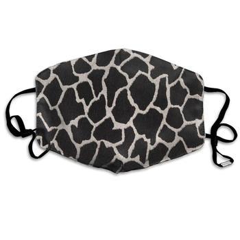 цена на Dustproof Washable Reusable Ebony Black And White Giraffe Mouth Cover Mask Respirator Germ Protective   Warm Windproof Mask
