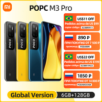 "Global Version POCO M3 Pro 5G Dimensity 700 Octa Core NFC 90Hz 6.5"" FHD+ DotDisplay 48MP Triple Camera 5000mAh in Stock 1"