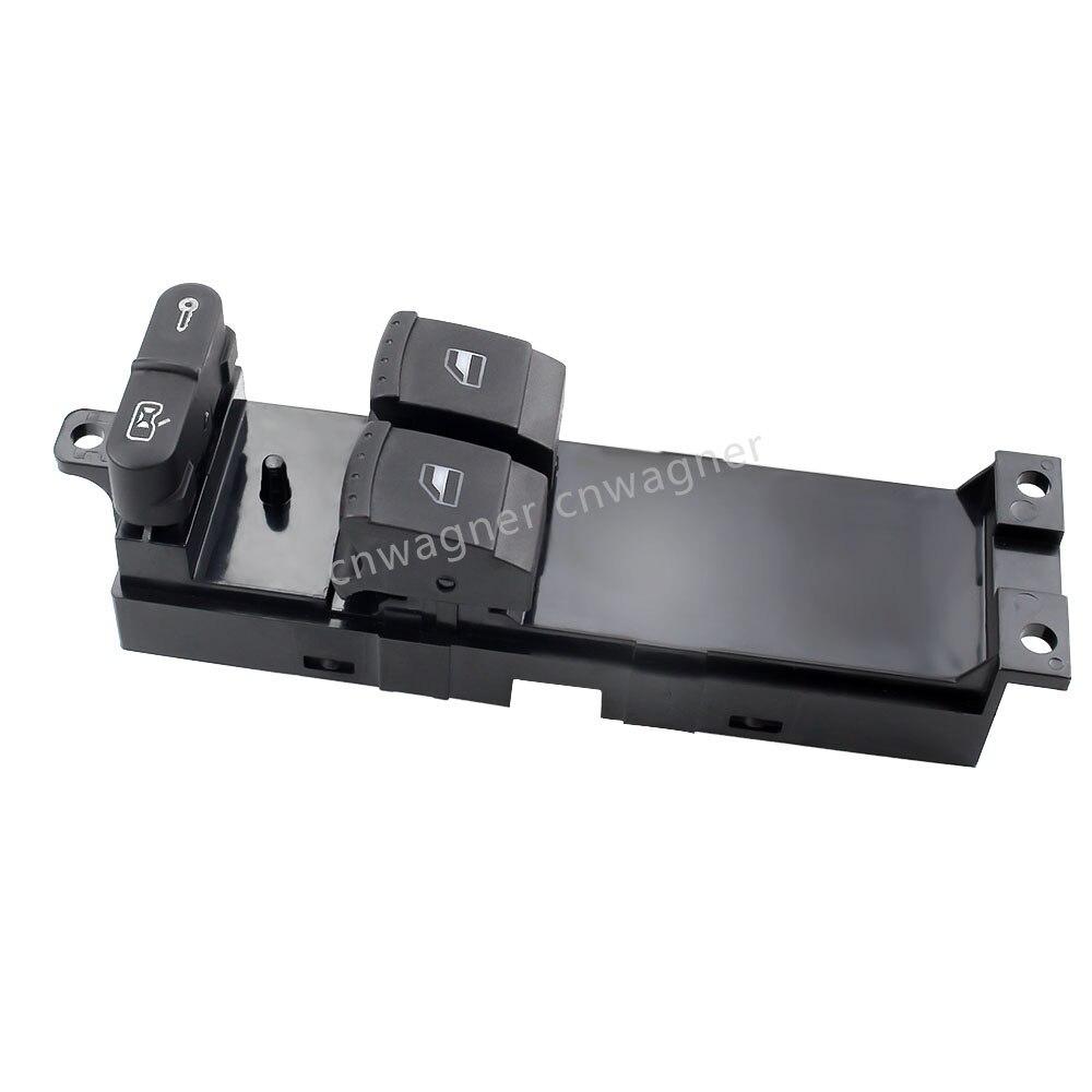 Wing Mirror Control Switch Knob 10 Pin LHD for Skoda Fabia 2000 on