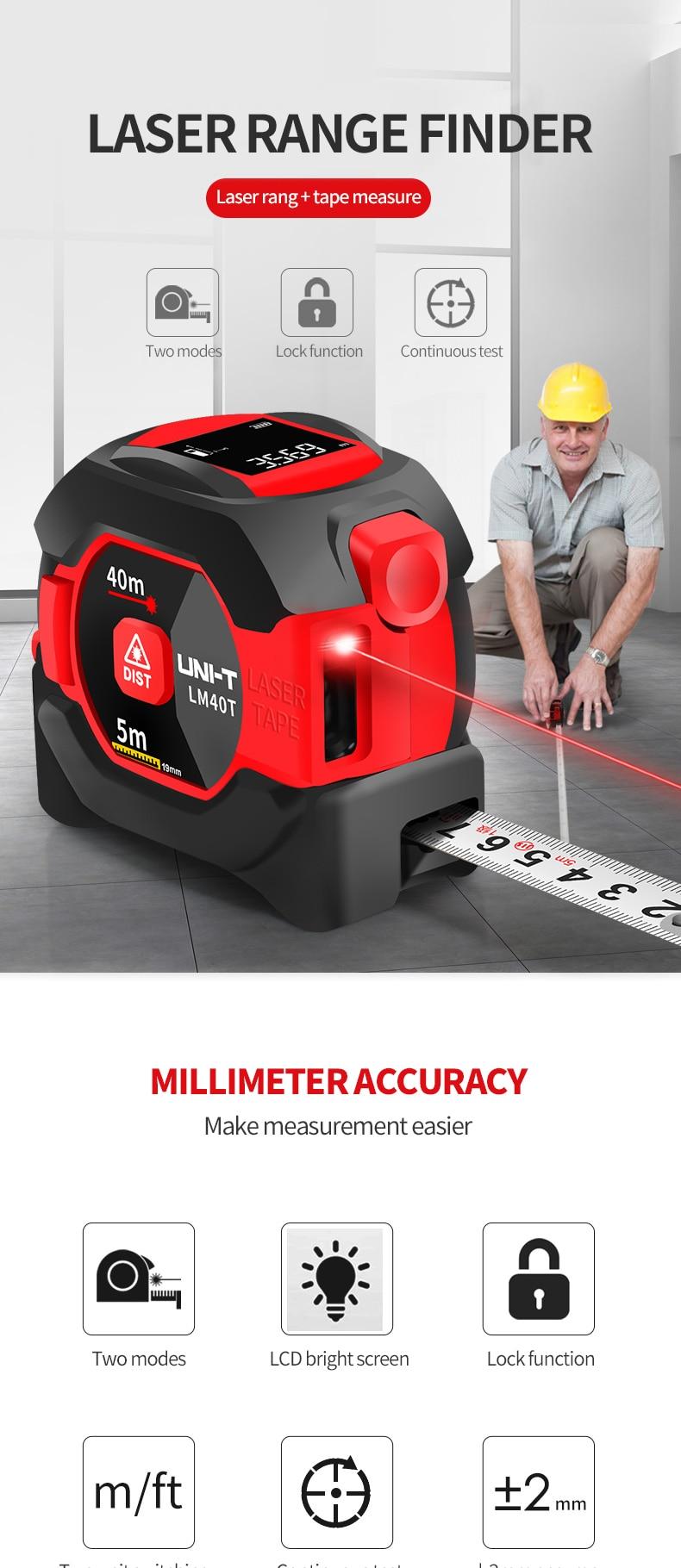 UNI-T Laser Measuring Rangefinder