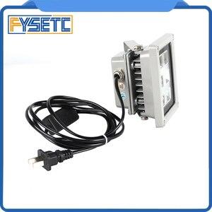Image 4 - High Quality 110 260V 405nm UV LED Resin Curing Light Lamp for SLA DLP 3D Printer Photosensitive Accessories Hot sale