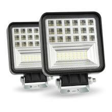 4 Inch 9V-30V 48W LED Work Light Bar Combo Beam Spotlight Driving Fog Lamp Running Light For Car Truck SUV Off-road Headlights(China)
