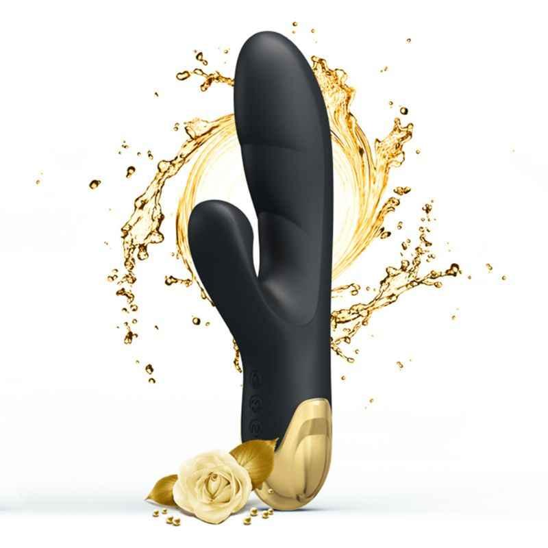G Spot 24K altın kaplama klitoral emme vibratör şarj edilebilir yapay penis vibratör masaj aleti su geçirmez klitoris simülatörü 7 titreşim & 7 emme desenler kadınlar için yetişkin seks oyuncakları çiftler için