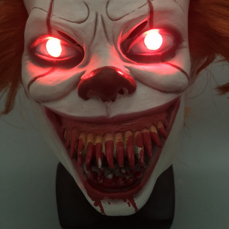 LED-It-Chapter-2-Pennywise-Clown-Cosplay-Mask-Flash-Scary-Stephen-King-Latex-Halloween-Masks-Bloody (3)