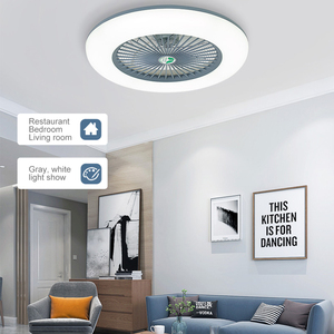 Remote Control LED Ceiling Fan Light Adjustable Wind Speed Dimmable 36W Modern LED Ceiling Light for Bedroom Living Room