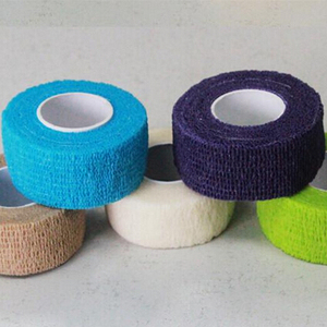 Self-adhesive bandage Colorful Sport Elastoplast Elastic Bandage Self Adhesive Wrap Tape Ankle Knee Arthrosis Protector