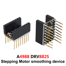 цена на Stepping motor smoothing device 3D Printer Parts A4988 Drv8825 Motor drive Mute smoother Eliminate vibration Module