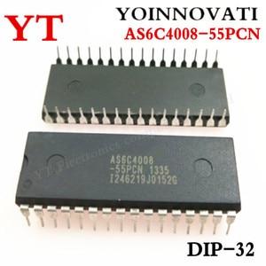 Image 1 - 5 قطعة/السلع AS6C4008 55PCN IC SRAM 4 ميغابت 55NS 32DIP 6C4008 AS6C4008 أفضل جودة