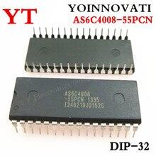 5 шт./лот AS6C4008 55PCN IC SRAM 4MBIT 55NS 32DIP 6C4008 AS6C4008 лучшее качество
