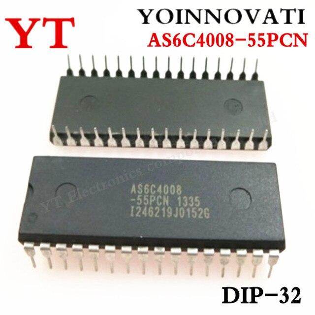 5 개/몫 AS6C4008 55PCN IC SRAM 4MBIT 55NS 32DIP 6C4008 AS6C4008 최고의 품질